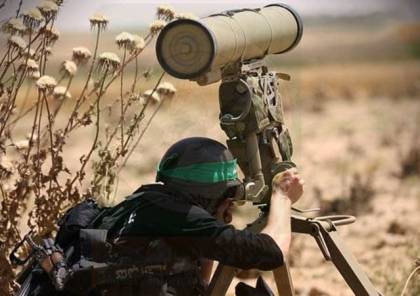 مشاهد من منطقة استهداف كتائب القسام لجيب عسكري اسرائيلي بغلاف غزة