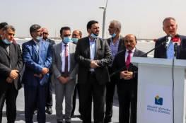 """رئيس مجلس إدارة """"باديكو"""" بشار المصري يفتتح مشروع توليد الطاقة الكهربائية في غزة"""