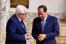 الرئيس عباس يعزي نظيره المصري بضحايا حادث تصادم القطارين في سوهاج
