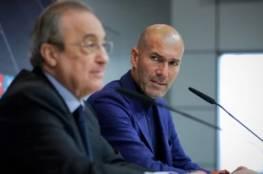 بيريز يجهز لقرار إقالة زيدان من ريال مدريد وتعيين خليفته