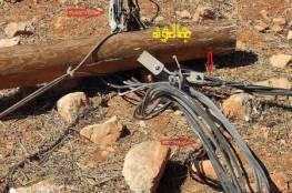 مستوطنون يلحقون اضرارا جسيمة بشبكة الكهرباء في جالود