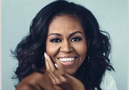 """اختيار """"ميشيل أوباما"""" للعام الثالث على التوالي كأكثر النساء إثارة للإعجاب في الولايات المتحدة"""