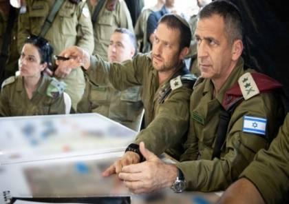 """تفاصيل زيارة رئيس أركان الجيش الاسرائيلي مكان عملية حاجز """"زعترة"""""""