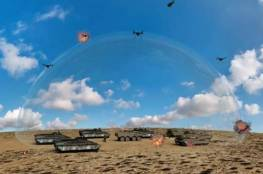 جيش الاحتلال ينشر منظومة ليزر على حدود غزة  لتحييد البالونات المفخخة