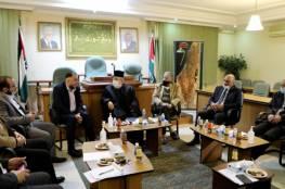 """""""المجلس الوطني"""" يستقبل وفدا من النواب الأردني"""