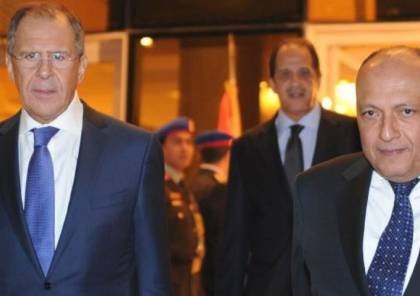 """وزيرا الخارجية المصري والروسي يؤكدان على ضرورة تحقيق """"السلام"""""""