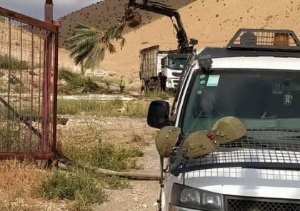 الاحتلال يقتلع 100 شجرة نخيل في الجفتلك
