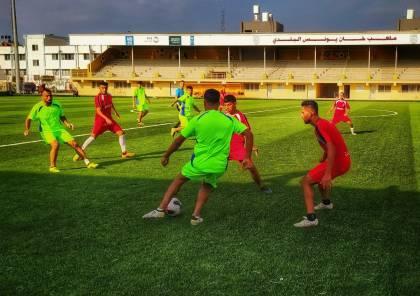ثلاثة تعادلات في مباريات ودية بغزة