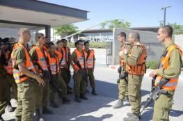 """مناورة لجيش الاحتلال تحاكي سقوط صواريخ على """"نتيفوت"""" بغلاف غزة"""