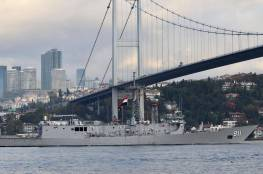 لقطات من إسطنبول.. سفن حربية مصرية تعبر مضيق البوسفور