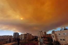 حريق كبير في القدس وإخلاء منازل إسرائيلية