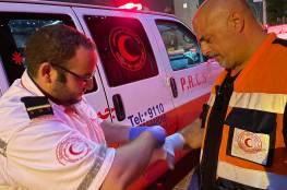 14 اصابة خلال مواجهات مع الاحتلال في الشيخ جراح وباب العامود