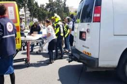 إصابة مستوطن بجراح في رأسه بالقدس المحتلة