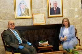 معايعة تلتقي سفير مالطا في بيت لحم
