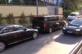 كاميرات مراقبة أظهرت نقل صناديق من القنصلية السعودية بعد ساعات من اختفاء خاشقجي