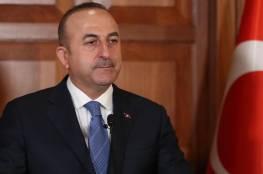 جاوش أوغلو: تركيا لن تقبل بحل يستبدل القدس وفلسطين بالمال