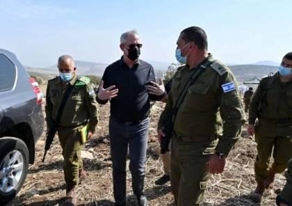 غانتس: أعداء إسرائيل في الشمال والجنوب لا يهدأون