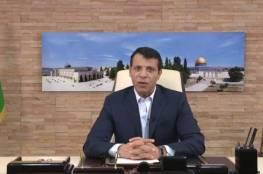 """شاهد.. دحلان يتحدث عن وحدة فتح والانتخابات الفلسطينية: الخلاف لم يعد بيني وبين """"أبو مازن""""!"""