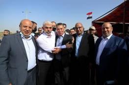 وضع حجر الاساس لحي سكني جديد في قطاع غزة باشراف وتمويل مصري