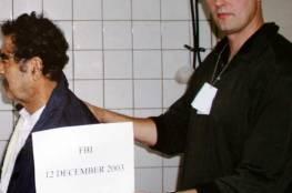"""وفاة عميل """"FBI"""" الذي قبض على صدام حسين"""