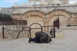 الاحتلال يزيل الأقفال الحديدية عن باب الرحمة بالمسجد الاقصى