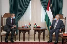 الرئيس عباس: التهدئة في غزة يجب أن تشمل وقف الاعتداءات في القدس والضفة