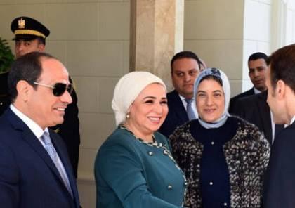 شاهد.. زوجة الرئيس السيسي تعرض صورا نادرة للسيسي وعائلته
