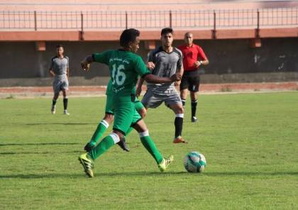 تغيير موعد انطلاق المباريات في دوري غزة