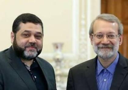 وفد حركة حماس يختتم زيارته الي طهران