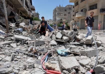 غزة : خسائر بـ 3 مليون دولار جراء 90 غارة شنها الاحتلال على القطاع