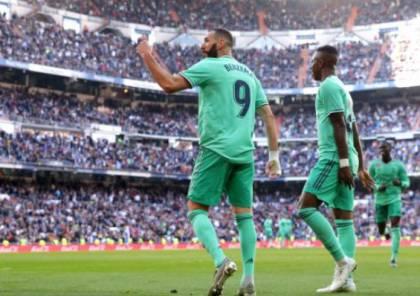 فيديو.. بنزيما يقود ريال مدريد لعبور إسبانيول وتصدر الليجا