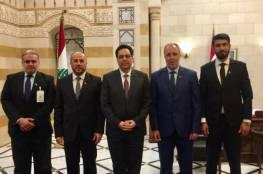 وفد من حماس يلتقي رئيس الحكومة اللبنانية