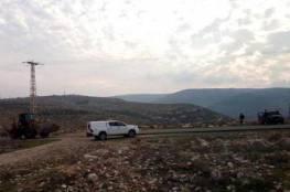 الاحتلال يوقف العمل بمدرسة في كيسان شرق بيت لحم