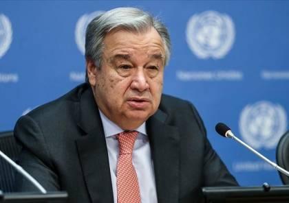 غوتيريش يعرب لمجلس الأمن عن صدمته بعدد الضحايا المدنيين في غزة