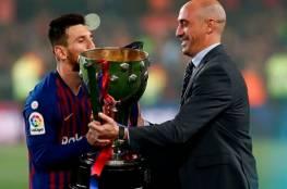 برشلونة يخطط لمنح ميسي عقداً مدى الحياة