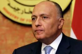 وزير الخارجية المصري يتوجه إلى الدوحة حاملا رسالة من السيسي لأمير قطر