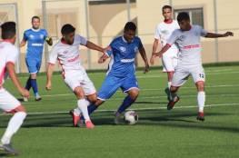 4 مباريات في دوري غزة الأحد