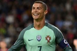 كريستيانو يقود البرتغال للفوز على منتخب لاتفيا