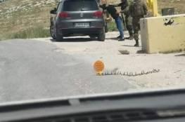 الاعتداء على مواطن واعتقاله في تقوع