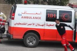 إصابة 3 أطفال أحدهم خطيرة بانفجار وسط القطاع