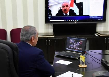 """اشتية: 137 مليون دولار تكلفة خطتنا لمواجهة """"كورونا"""" و3.8 مليار دولار خسائر الاقتصاد الفلسطيني"""