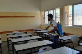 """""""تعليم غزة"""" تنهي تجهيزات مدارسها لاستقبال الطلبة من7 لـ 11"""
