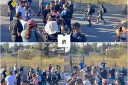 الاحتلال يقمع وقفة اسناد لأهالي حي الشيخ جراح وسلوان بالقدس المحتلة