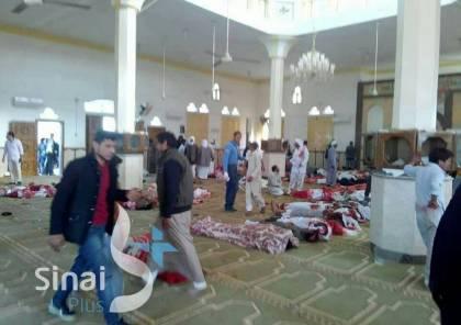 الفصائل الفلسطينية تدين جريمة استهداف مسجد في سيناء