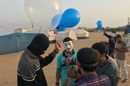 """الاحتلال يزعم: مجموعة من البلالين المفخخة أطلقت من غزة باتجاه """"أسدود"""""""