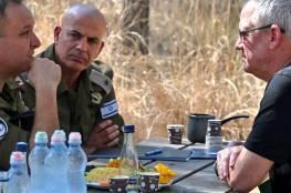 غانتس وكوخافي يهددان غزة: إطلاق البالونات والمظاهرات على الحدود ستقودنا لحدث كبير
