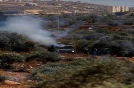 37 إصابة خلال مواجهات مع قوات الاحتلال جنوب نابلس