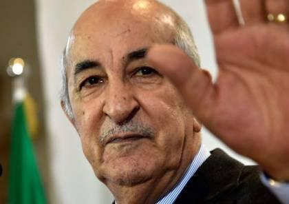 """إخضاع الرئيس الجزائري للحجر الصحي """"الطوعي"""" بعد ظهور أعراض كورونا على مساعديه"""