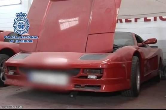 عصابة تبيع سيارات فيراري مزيفة