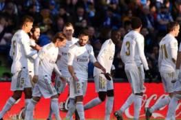 فيديو.. فوز هام لريال مدريد على حساب خيتافي ويتصدر مؤقتاً